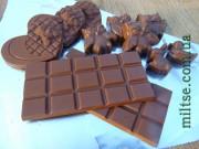 Фото: Молочный шоколад с какао тертым
