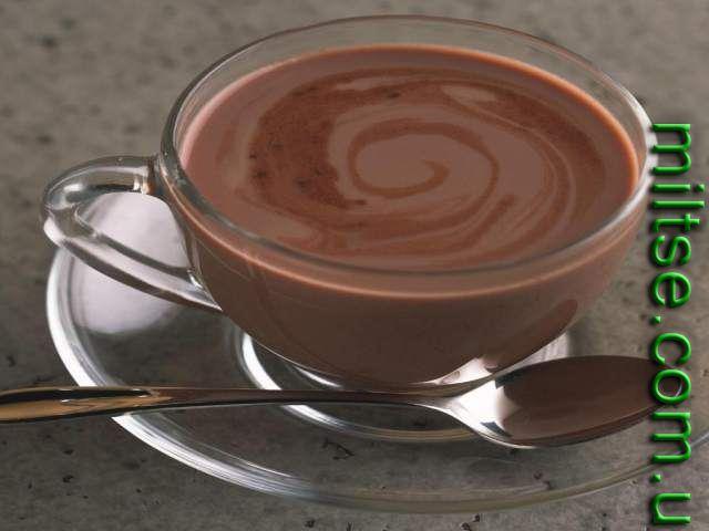 Фото: горячий шоколад